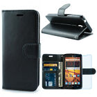 ZTE Uhura / Ultra / N817 Case, Premium Leather Wallet Case with STAND Flip Cover