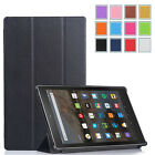 Sleep/Wake Protective Stand Case Cover for Amazon Kindle Fire HD 10 2015 Release
