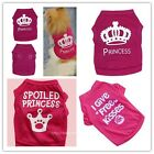 Dog Lovely T Shirt Pet Clothes Apparel Vest Costumes Puppy Printed Warmer Coat