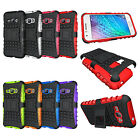 For Samsung Galaxy Express 3 (AT&T) Case Hybrid Armor Kickstand Protective Cover