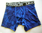 "Under Armour Boxerjock Black Stripe Blue 6"" Boxer Shorts Briefs NIB 1237812 402"