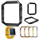 Stainless Steel Metal Frame Holder Cover Shell Case For Fitbit Blaze Smart Watch