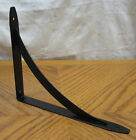 "NEW Black Decorative 8"" x 10"" Steel Shelf Brackets! 1/2/4/6/8/12 Metal Fixed Lot"