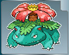 VENUSAUR SPRITE POKEMON Vinyl Decal #1 PICK A SIZE! Car Laptop Sticker