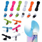 Mini Portable Phone Fan Cooler for iPhone iPod and Android OTG Micro USB