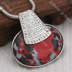 1pc 10Color Howlite Turquoise Oval Bead Fashion Style Pendant Stone Lady Jewelry
