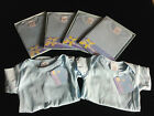 Set of Six New w/ Tags Baby Blue Onesies Assorted Sizes Baby Shower Gift Boys