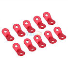 10x Tent Rope Fastener Guyline Tensioner Rope Adjuster Camping Accessories
