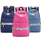 Women Girl Retro Shoulder School Bag Backpack Travel Satchel Rucksack Handbag