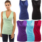 Hot Sexy Women's Fashion T-Shirt Ladies Summer Casual Sleeveless V-Neck Vest Top