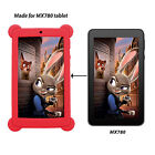 """Nice Soft Rubber Gel Silicone Cover Case For 7"""" Inch Tablet PC Protector Film"""