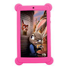"Nice Soft Rubber Gel Silicone Cover Case For 7"" Inch Tablet PC Protector Film"