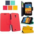 For Samsung Galaxy S2 D710 Slim PU Leather Card Slot Wallet Case Stand Cover