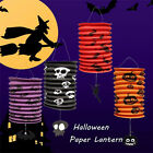 Halloween Hanging Decal Pumpkin Bat Witch Pattern for Holiday Party Decor Scary