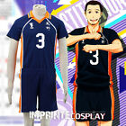 Haikyu!! Karasuno High No.3 Asahi Azumane Uniform Cosplay Costume Full Set