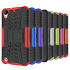 For HTC Desire 530 Case Hybrid Armor Shockproof Kickstand Protective Phone Cover