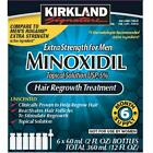 Kirkland Minoxidil 5% Extra Strength Hair Loss Treatment Regrowth 6mo Men CHOP