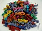"Seven New Pairs Round Colored Cotton Waxed Dress Shoelaces Laces 30"" your choice"