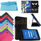Folio Stand Wake/Sleep Case Cover For AT&T Trek 2 HD 6461A 2016 4G LTE Tablet