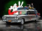 GHOSTBUSTERS 2 Movie Car Image Poster Gloss Print Laminated (New)