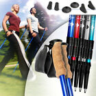 Nordic Antishock Trekking Hiking Walking Pair Stick Pole Choice of Colour & Set