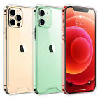 Crystal Full Edge Protector Slim Clear Hard PC Case Cover for iPhone 7 & Plus