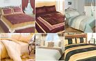Luxury Quilted Multi Bedspreads Throws Sets Modern Bedding Single Double King