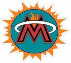 Miami Fan Heat Marlins Dolphins Panthers Vinyl Sticker Decal Car Bumper Cornhole on eBay