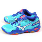 Mizuno Wave Twister 4 Volleyball Badminton Shoes Sky Blue/White/Blue V1GC157017