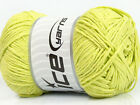 Lot of 4 x 100gr Skeins Ice Yarns NATURAL COTTON (100% Cotton) Yarn Baby Green