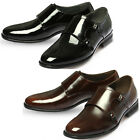 Mooda Mens Leather Loafer Shoes Classic Formal Lace up Dress Shoes Monk CA