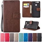Wallet Cards Leather Kickstand Cover Case For Huawei Ascend P9/Lite/Plus/P8Lite