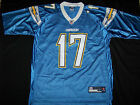 Reebok Men's San Diego Chargers #17 Phillip Rivers Jersey $35.99 USD