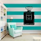 COCO CHANEL Love Family Vinyl Wall Art quote Home Decor Decal Word Phrases black