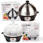 Egg Boiler Cooker Breakfast Clear Stainless Steel Electric Cook Steamer Poacher