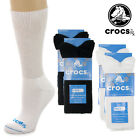 4 Pairs Crocs Dry Diabetic Crew Socks Medical Foot Non-Binding Top Seamless Toe