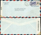 1942 WWII Censored, US - SOUTH ARICA, #C27, #832 PREXIE, $1.10, INCORRECT RATE!