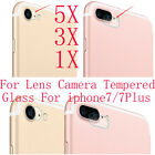 5/3/1 9H hard Camera Lens Tempered Glass Protector For iPhone 7 / 7 Plus