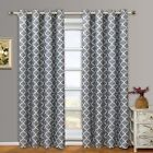 Meridian Room Darkening Grommet Thermal Insulated Top Window Curtains Pair