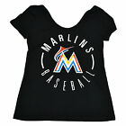 Victoria's Secret Miami Marlins T Shirt Mlb Love Pink Baseball Graphic Tee New