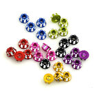 M4 Carving Nuts (Nyloc) Hex Lock Nuts Hexagonal Nuts for RC HSP Sakura D3 D4 Car