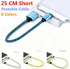 25CM/1FT Fast Micro USB Data&Sync Hight Speed Charger Cable Cord For Cell Phone