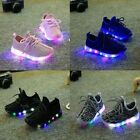 Hot New!  Children Kids Boys Girls Luminous Sneakers shoes Led Light Up Shoes