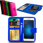 For ZTE Blade A430 - Clip On PU Leather Flip Wallet Book Case Cover