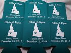 State Wedding Koozies- Idaho favors 1 color/1 location design 158547778ID
