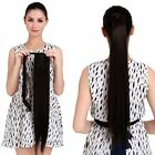 100% real clip in New human Hair Ponytail Claw in Hair Extensions Hairpiece