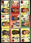 1955 TOPPS BASEBALL NEAR COMPLETE SET 201/206 NM *51294