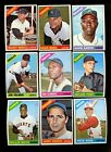 1966 TOPPS BASEBALL NEAR COMPLETE SET 596/598 NM *51303