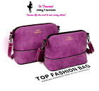 Ladies Gorgeous Quality Popular Fashion Trend Grey Purple Red Small PU Handbag