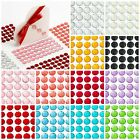 Sheet 50 - 10mm Self Adhesive Craft Diamante Dazzler Resin Gem Stick on Crystals
